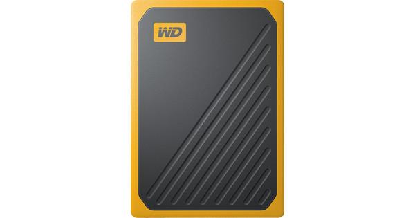 WD My Passport Go 500GB Zwart / Geel
