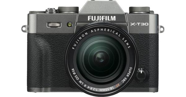 Fujifilm X-T30 Donkergrijs + XF 18-55mm f/2.8-4.0 R LM OIS