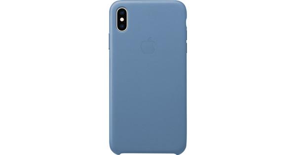 Apple iPhone Xs Max Leather Case Cornflower blue