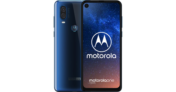 Motorola One Vision Blauw