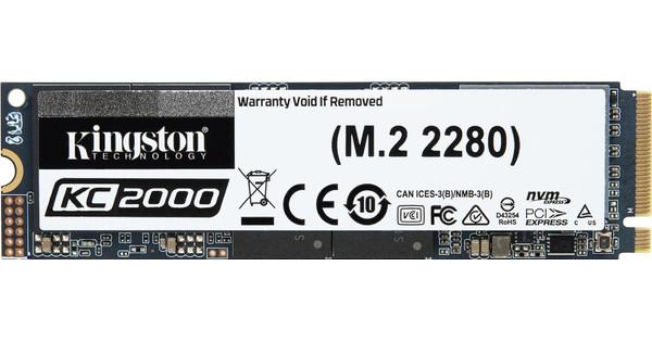 Kingston KC2000 M.2 2280 NVMe SSD 250GB