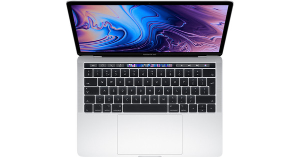 """Apple MacBook Pro 13"""" Touch Bar (2019) MUHR2FN/A Azerty Argent"""