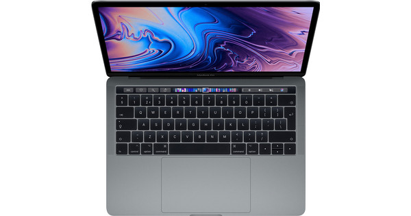 """Apple MacBook Pro 13"""" Touch Bar (2019) MUHP2FN/A Space Gray Azerty"""