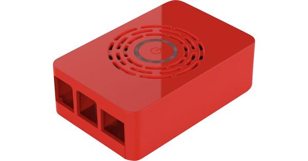 Multicomp Pro Raspberry Pi 4 Boitier - Bouton d'Alimentation - Rouge