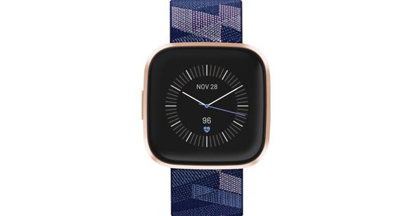 Fitbit Versa 2 Édition spéciale Cuivre/Bleu