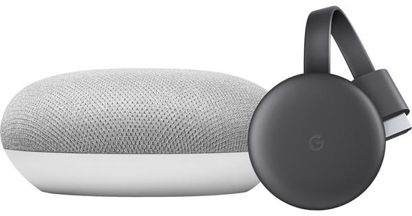 Google Home Mini + Google Chromecast V3