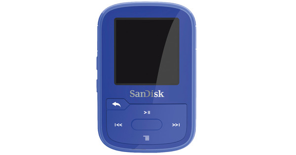 Sandisk Clip Sport Plus Blauw