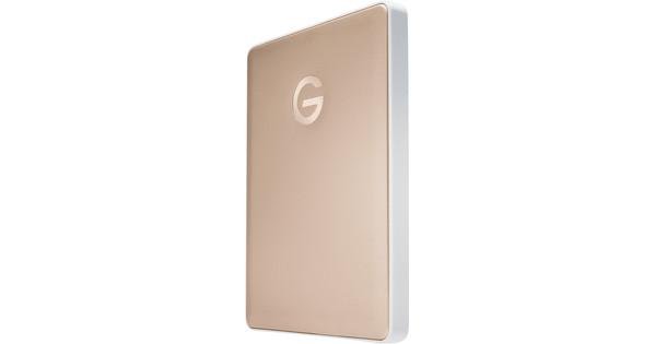 G-Technology G-Drive Mobile USB-C 2TB Goud