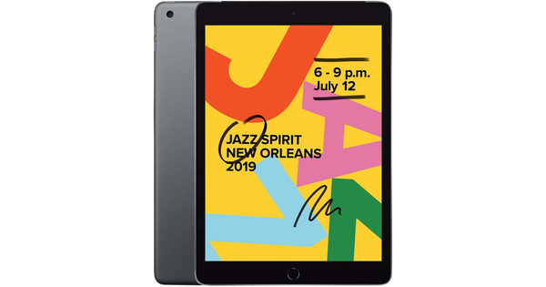 Apple iPad (2019) 128 Go Wi-Fi Gris sidéral