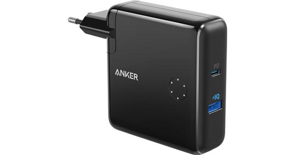 Anker PowerCore Fusion Chargeur et Batterie externe 5000 mAh Power Delivery Noir