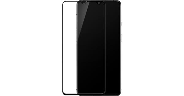 OnePlus 7T Screenprotector Gehard Glas Zwart