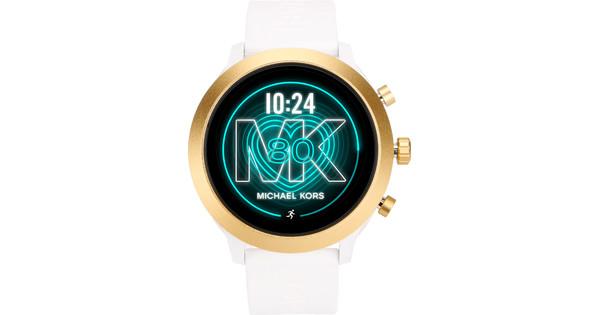 Michael Kors Access MK Go Gen 4S MKT5071 - Goud/Wit
