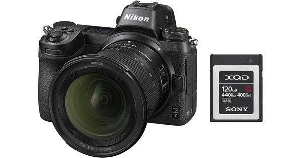 Nikon Z6 + Nikkor Z 14-30 mm f/4 S + Carte mémoire XQD 120 Go