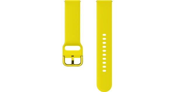 Samsung Galaxy Watch Active Band Plastic Yellow