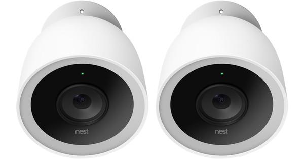 Google Nest Cam IQ en extérieur Lot de 2