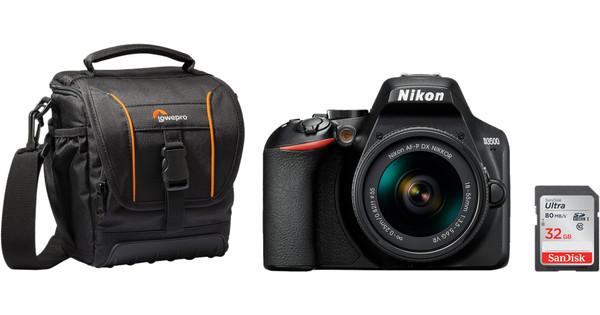 Nikon D3500 + 18-55mm f/3.5-5.6 VR starterkit