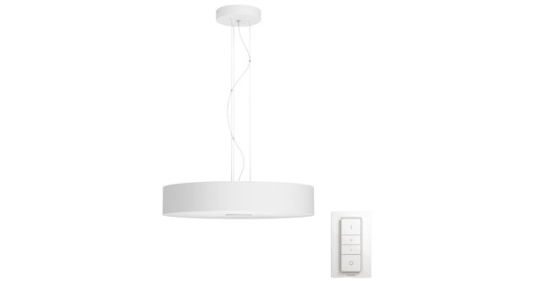 Philips Hue Fair hanglamp White Ambiance Bluetooth Wit