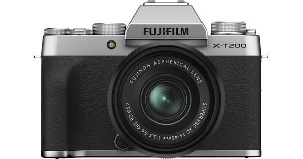Fujifilm X-T200 Zilver + XC 15-45mm f/3.5-5.6 OIS PZ