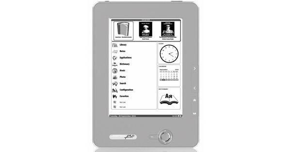 PocketBook 612 eReader Dark Silver + Thuislader