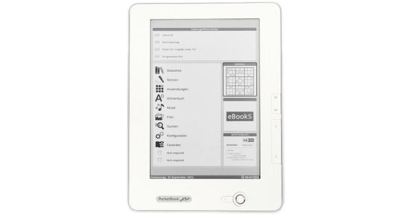 Pocketbook 912 e-Reader Matte White + Leeslamp