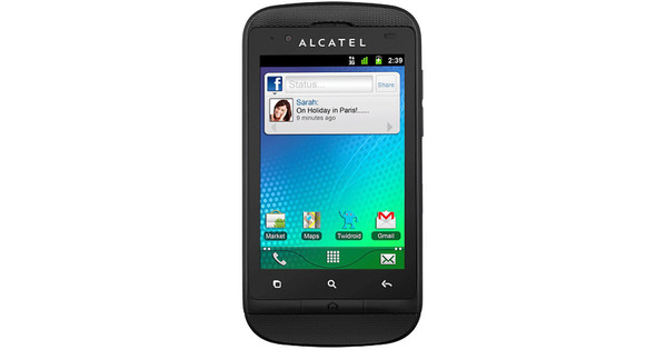 Alcatel One Touch 918 Black