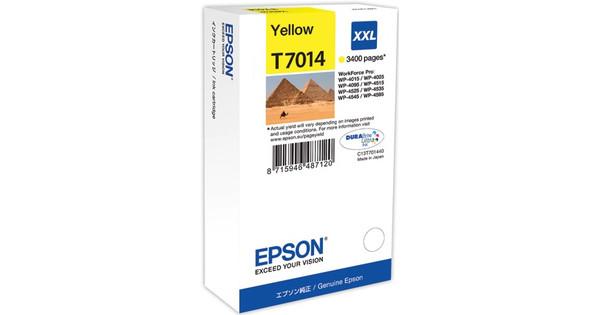 Epson T7014 Cartridge Geel XXL (T70144010)