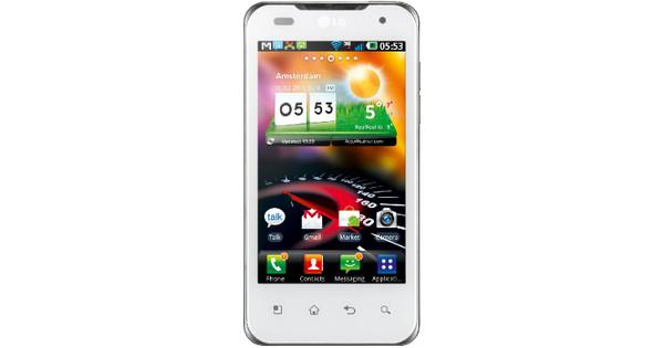 LG Optimus 2X Speed White