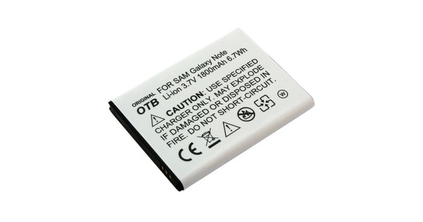 Veripart Battery Samsung Galaxy Note 1800 mAh + Thuislader