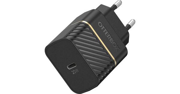 Otterbox Power Delivery Oplader met Usb C Poort 20W Zwart