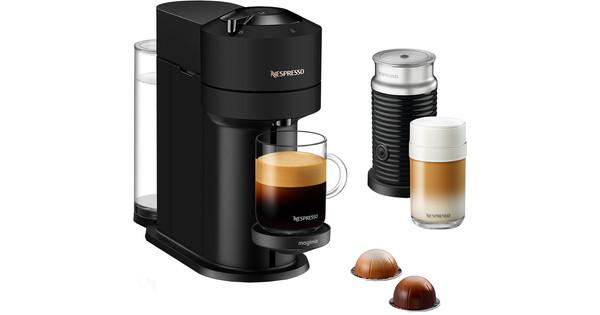 Magimix Nespresso Vertuo Next avec Aeroccino Noir Mat