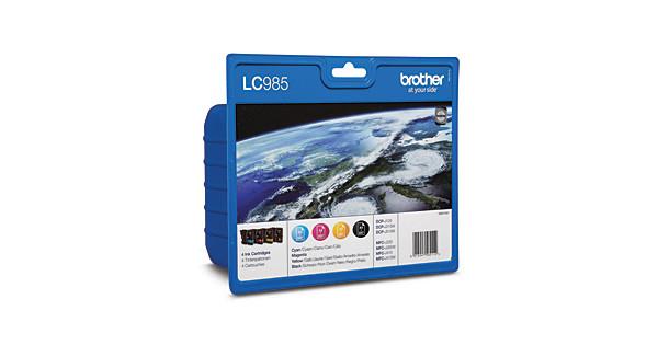 Brother LC-985VALBP 4-Kleuren Pack