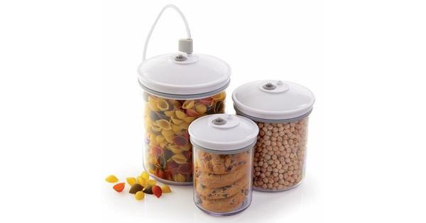 FoodSaver Bussenset 0,7L + 1,4L + 2,4L