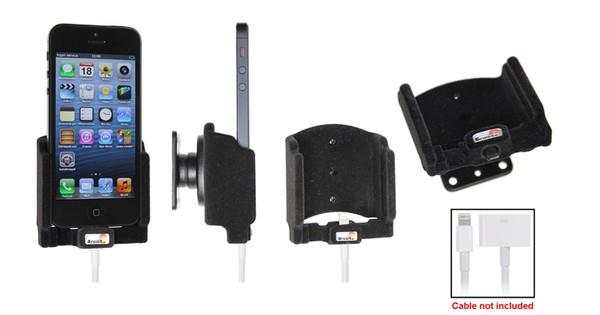 Brodit Passive Holder iPhone 5 + Kabel + Dual Lader