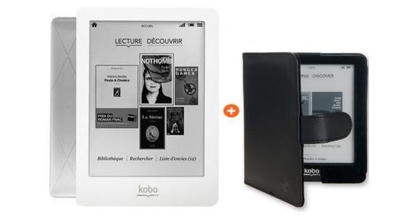 Kobo eReader + Case