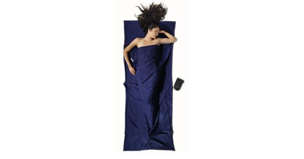 Cocoon Microfiber Travelsheet Twilight Blue