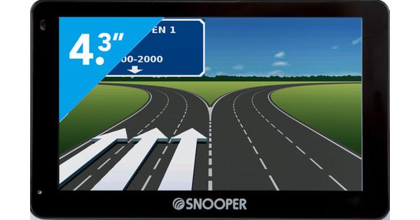 Snooper S2500 + Dashboardmontage + Autolader + Thuislader