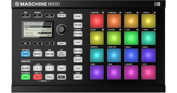 Native Instruments Maschine Mikro MK2 Noir