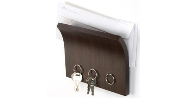 Huis Donker Hout : Umbra magneet sleutelhouder hout donker coolblue voor 23.59u