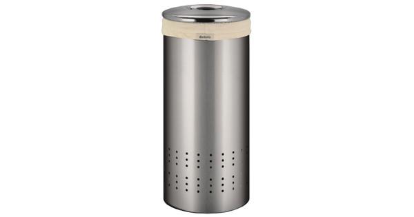 Brabantia Wasbox 50 Liter Matt Steel.Brabantia Wasbox 30 Liter Rvs