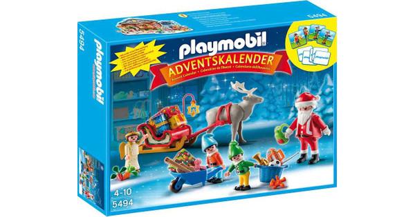 Playmobil Weihnachtskalender.Playmobil Adventskalender Kerstman 5494