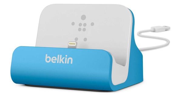 Belkin Lightning Dock Apple iPhone 5/5S/SE Blue