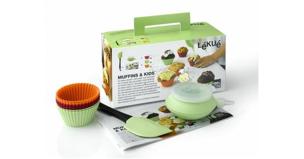 Lekue Muffin & Kids Giftset