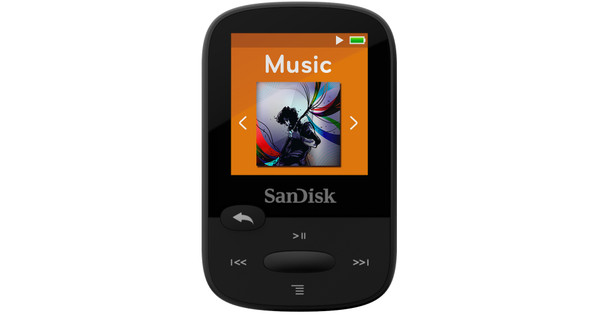 Sandisk Sansa Clip Sports 8GB black