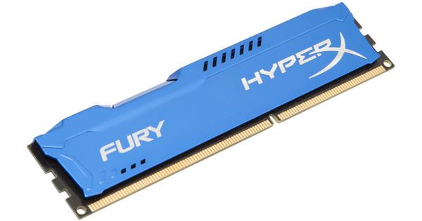 Kingston HyperX FURY 8GB DDR3 DIMM 1600 Blauw (1x8GB)