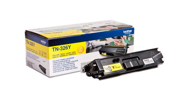 Brother TN-326Y Toner Jaune