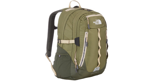 a2e3aa23a66 The North Face Surge II Burnt Olive Green/Military Green - Coolblue ...