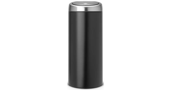 Pedaalemmer Brabantia Touchbin.Brabantia Touch Bin 30 Liter Zwart