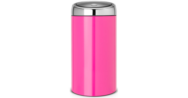 Touch Bin 45 Liter.Brabantia Touch Bin 45 Liter Radiant Rose Coolblue Voor 23 59u