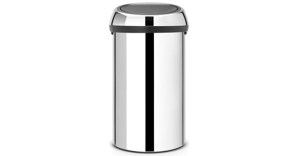 Touch Bin Sluiting.Brabantia Touch Bin 60 Liter Brilliant Steel Coolblue Voor 23 59