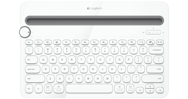 Logitech Multi Device Toetsenbord K480 wit AZERTY